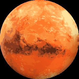 Planète Mars en astrologie