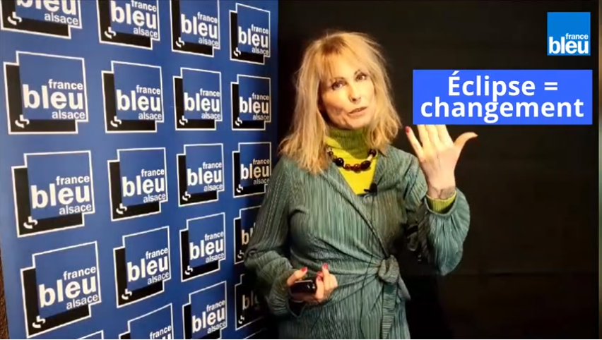"Astrologue natacha S. émission de radio ""Les Experts"" sur France Bleu Alsace"
